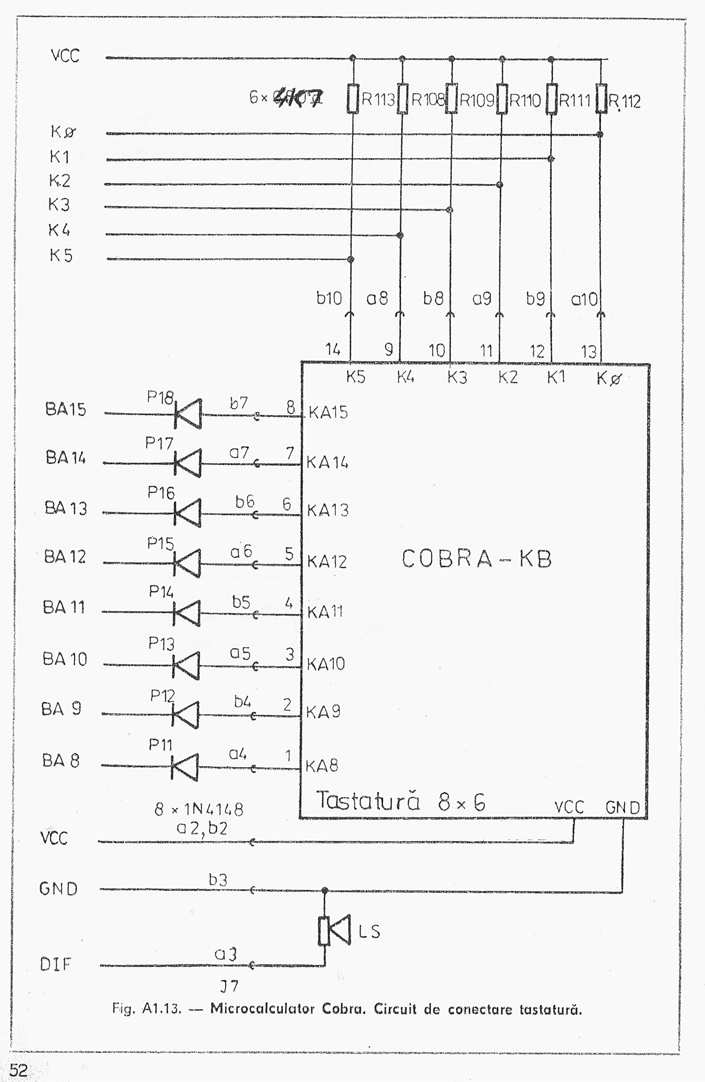 The Original Cp M Cobra Manual Logic Of 74248 Circuit Is Represented By Following Pag52